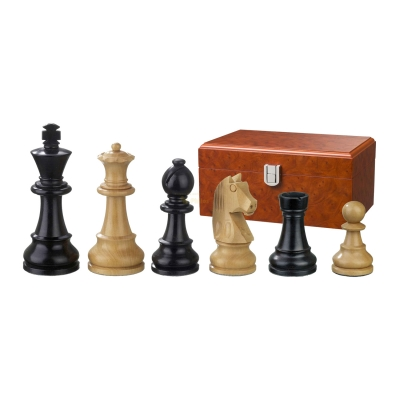 Chess figures - Ludwig XIV - wooden - Staunton - king size 110 mm
