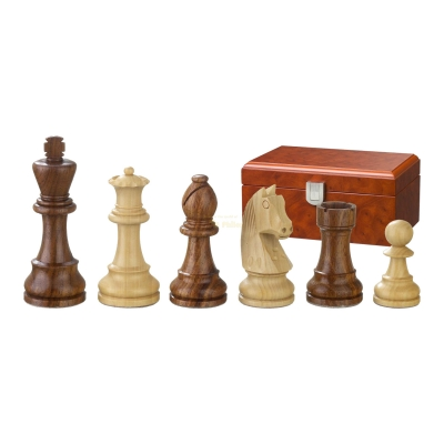 Chess figures - Artus - wooden - Staunton - king size 70 mm