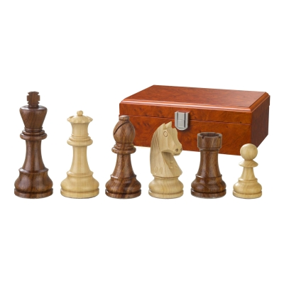 Chess figures - Artus - wooden - Staunton - king size 78 mm