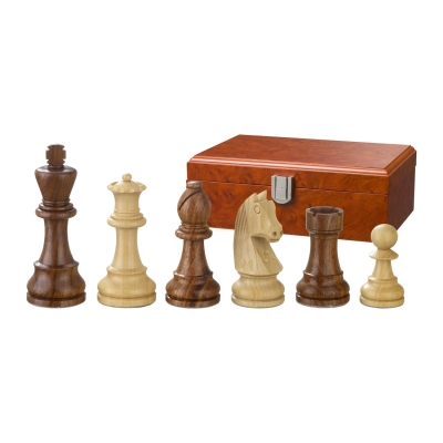 Chess figures - Artus - wooden - Staunton - king size 90 mm