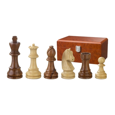 Chess figures - Artus - wooden - Staunton - king size 110 mm