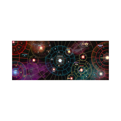Firefly - The Game The Whole Damn Verse - Game Mat - englisch