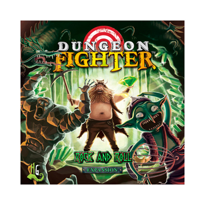 Dungeon Fighter - Rock and Roll - Expansion - englisch