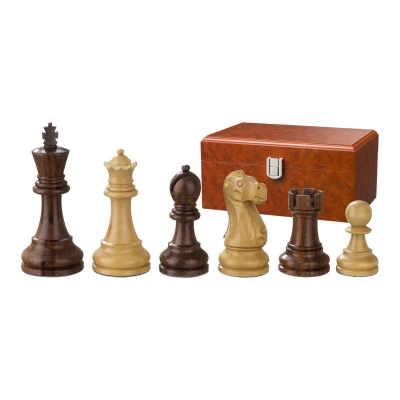 Chess figures - Tutenchamun - wooden - Staunton - king size 95 mm