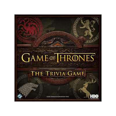 Game of Thrones - The Trivia Game - HBO Edition