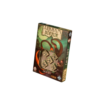 Arkham Horror Dice Set - White