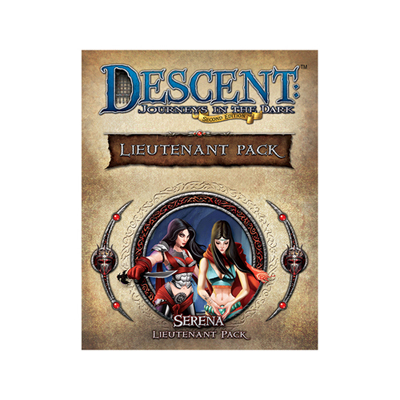 Descent 2nd - Serena - Lieutenant Pack