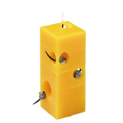 Kerze - handgearbeitet - Stern-Form - 5 versch. Farben - ca 20 cm ...