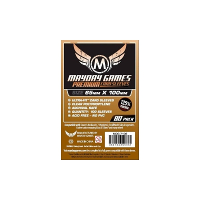Premium Magnum Copper Sleeve (80) - 65 x 100mm -7 Wonders -7106