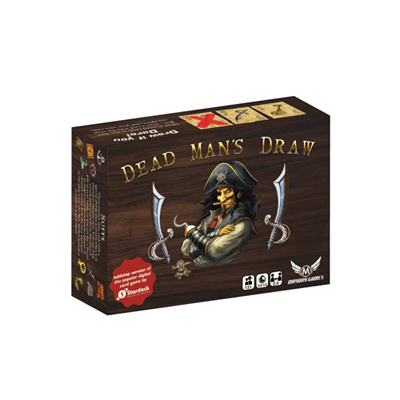 Dead Mans Draw Card Game - englisch