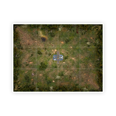 Mage Wars Arena Playmat - Straywood