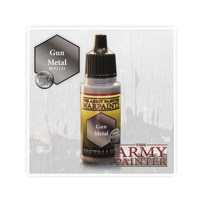 Army Painter Paint - Gun Metal