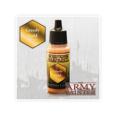 Army Painter Paint - Greedy Gold