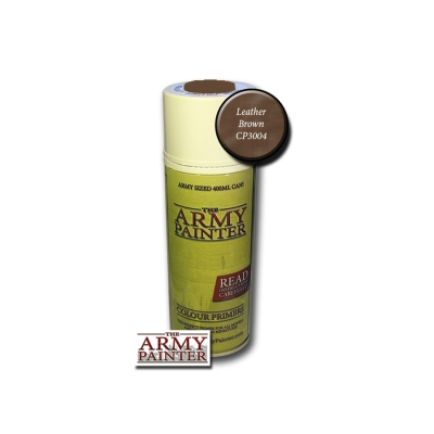 Army Painter  Primer - Leather Brown Spray - 400ml