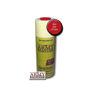 Army Painter  Primer - Pure Red Spray - 400ml