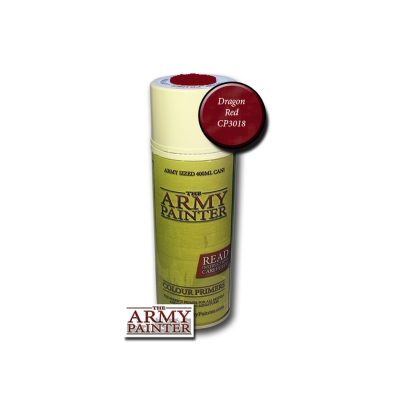 Army Painter  Primer - Dragon Red - 400ml