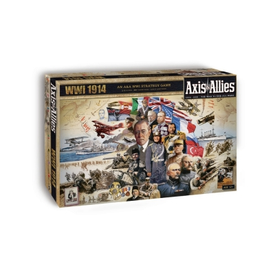 Axis und Allies - Worldwar 1 - 1914