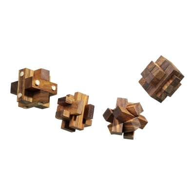 Puzzle Gift Set III - gift box - 4 cubes