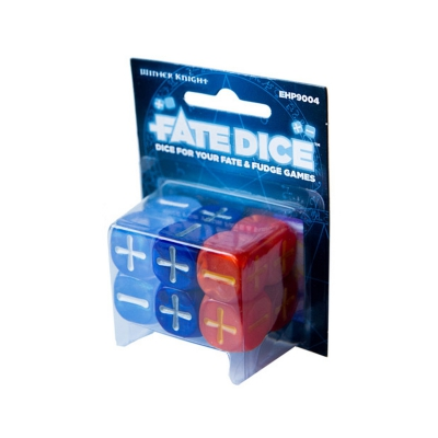 Fate Dice - Dresden Files - Winter Knight Dice
