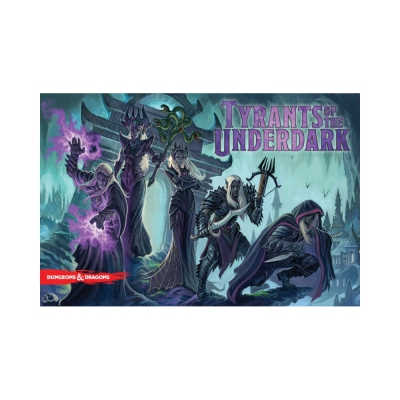 Dungeons und Dragons - Tyrants of the Underdark Boardgame