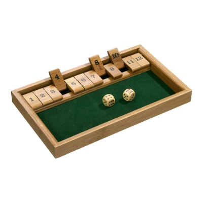 Shut The Box 12er - Bambus