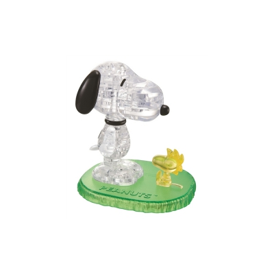 Crystal Puzzle - Snoopy Woodstock
