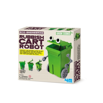 Green Science - Eco-Engineering - Rubbish Cart Robot