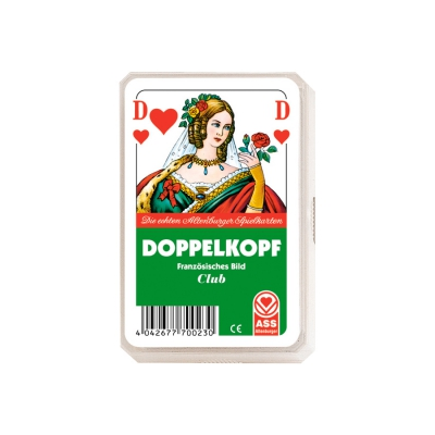 Doppelkopf Playing Cards - French face - Doppelkopf