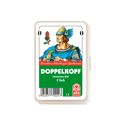 Doppelkopf Playing Cards - German face - Kunststoffetui