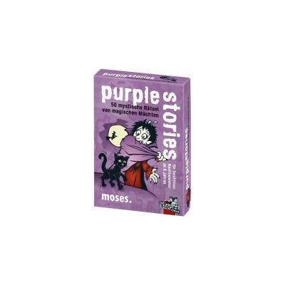 Black Stories Junior - Purple Stories