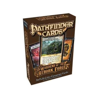 Pathfinder Campaign Cards - Wardens of the Reborn Forge