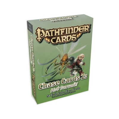 Pathfinder - GM Cards - Chase Cards #2 - Hot Pursuit