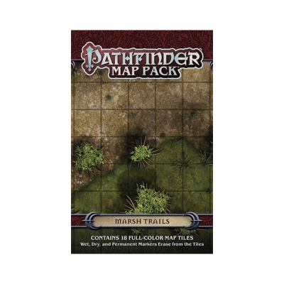 Pathfinder - GM Map Pack - Marsh Trails