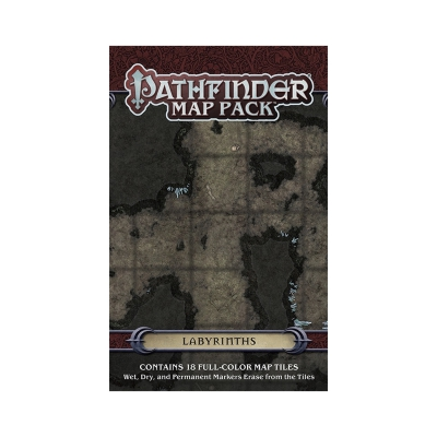 Pathfinder - GM Map Pack - Labyrinths