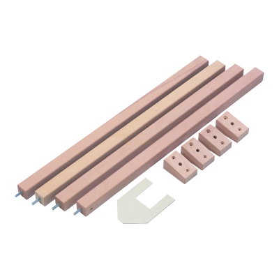 Carrom Table-Legs - beech - 700 x 35 mm - 4 pieces