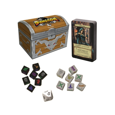 Dungeon Roll - 2 Edition inkl -Booster
