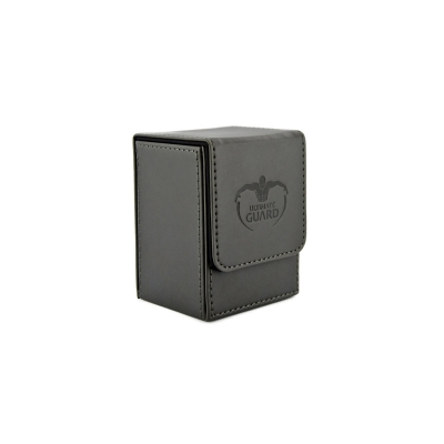 Ultimate Guard FlipDeck Case Leather 80+ Schwarz