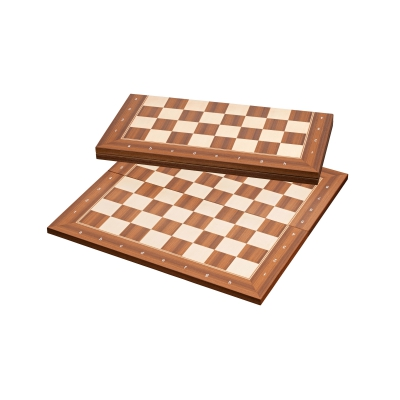 London - 50mm - foldable - chessboard - with border inscription