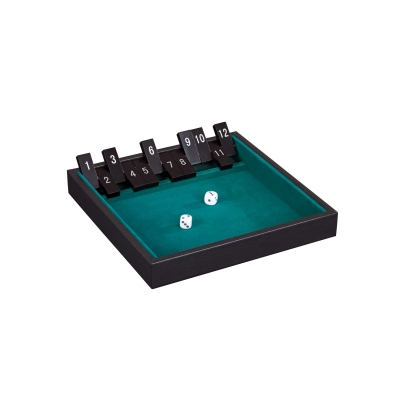 Shut The Box - 12er - Kunstleder