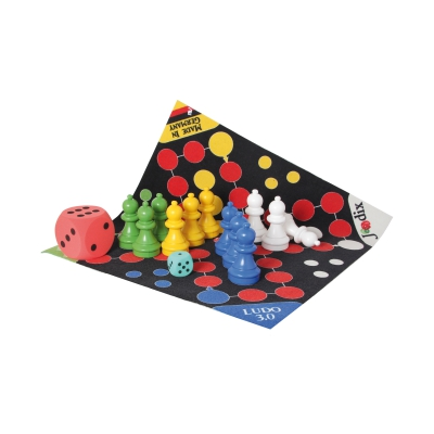 Ludo 3.0 XXL Game Carpet with figures and bag