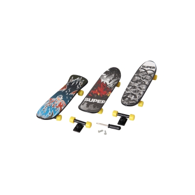 Finger-Skateboard Set of 3