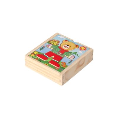 Dressing puzzle Willi colored