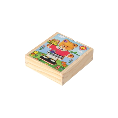 Dressing Puzzle Berta colored