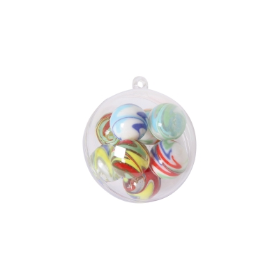 Glass Marbles 10pcs - assorted
