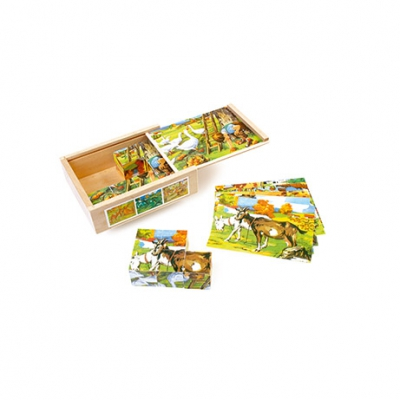Dice Puzzle - Country Life