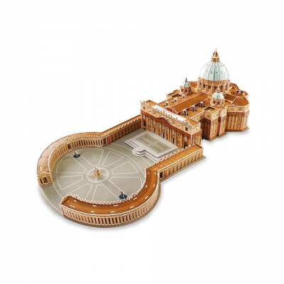 3D St. Peter Cathedral