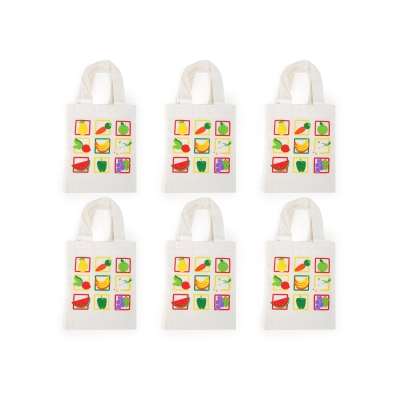 Shopping bag vegetables