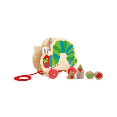 The Very Hungry Caterpillar pull-along toy