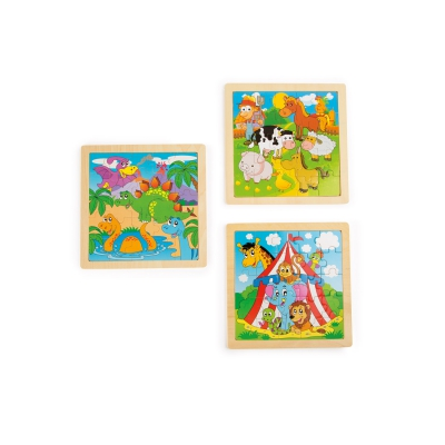 Frame Puzzle Animal Set No.1