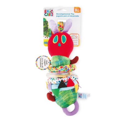 The Very Hungry Caterpillar motor skills toy with vibration